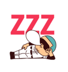 【応援の夏】まるがり高校野球部7(個別スタンプ:40)