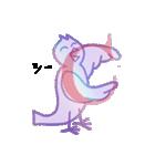 シンプルバード (ビク鳥編)(個別スタンプ:03)