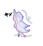 シンプルバード (ビク鳥編)(個別スタンプ:09)
