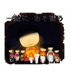座敷童子スタンプ4(個別スタンプ:4)