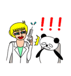 ナンシーとパンダ 2(日本語版)(個別スタンプ:28)