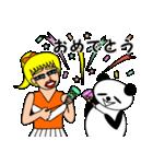 ナンシーとパンダ 2(日本語版)(個別スタンプ:33)