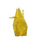 足のある折鶴(個別スタンプ:15)