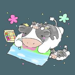 ほんわか可愛い牛さんの日常