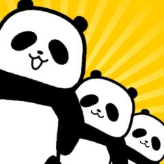【動く】世の中をなめきってるパンダら