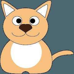 [LINEスタンプ] 子犬で、メッセンジャー (1)