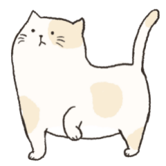 Chubby Rice Cat