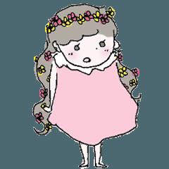 くく子と春のバンザイ