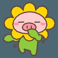 ぶたたのかしこまった春
