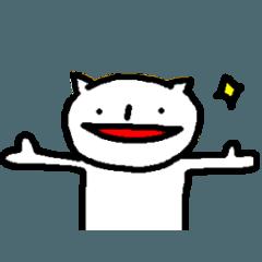 キャット四郎(猫のスタンプ)