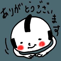 [LINEスタンプ] 敬語のコロ侍