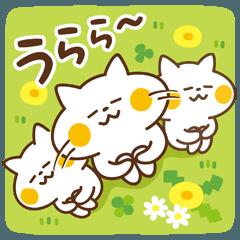 敬語の使えるにゃんこ【春を楽しむ用】