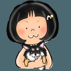 おハナさんと犬の敬語。