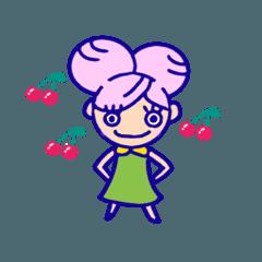 [LINEスタンプ] 頑張る女子の毎日スタンプ パート2