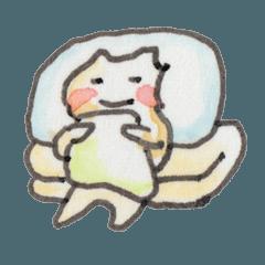 うさぼう 01 はたらく白ネコ