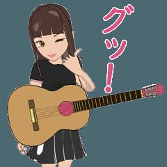 無名 ギター女子