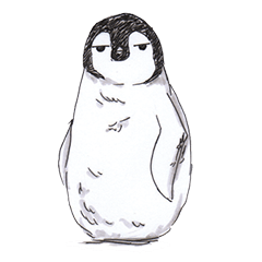 Penguin in daily life