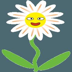 花たちが、みんなをまっているよ!