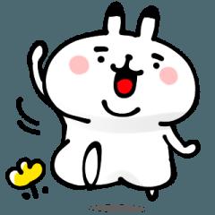 もっちゃりウサギ【家族の連絡用】