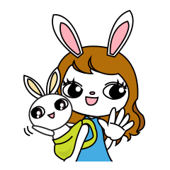 ウサギママルルちゃん