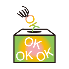 OK OK OK Stickers
