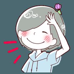 咲いてる子2