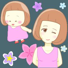 【敬語】ニックネームは前髪ちゃん