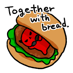 Together with bread.(English version)