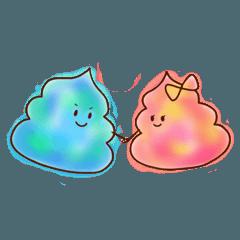 ソフトクリームの妖精たち