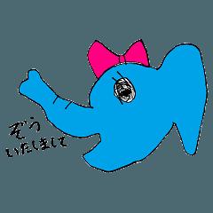 ぴーちゃんのスタンプ☆