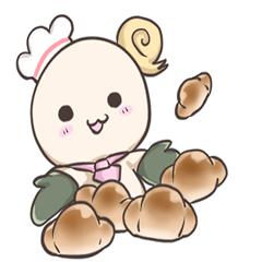 パンの妖精✩日常系スタンプ