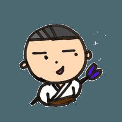 Japanese archery mimata