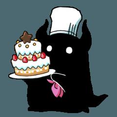 お菓子とホシクイスタンプ