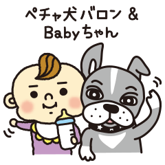ペチャ犬バロン&Babyちゃん