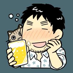 猫とビールとますたーと