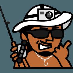 釣り人のためのスタンプ【エルドラド】