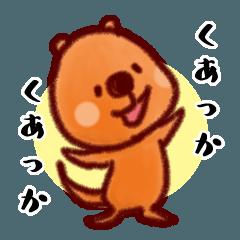 【クアッカワラビー】①世界一幸せな動物!