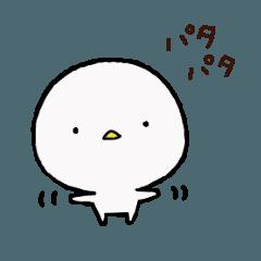 白いかわいいヤツ。4