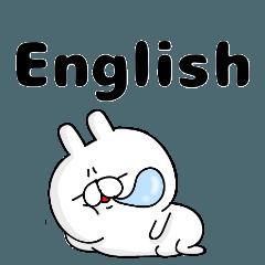 雑なうさぎ 英語