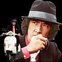 松田優作 探偵物語サウンドスタンプ
