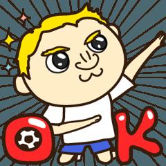 サッカー好きの為の使える日常会話