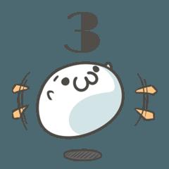 しょんぼり饅頭3