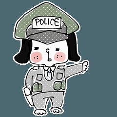 Dog policeman