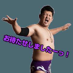 プロレスリング紫焔スタンプ第1弾