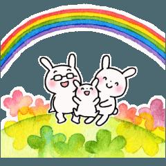 子育てウサギパパ編2
