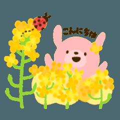 [LINEスタンプ] お花でほのぼのスタンプ[敬語&日常] (1)
