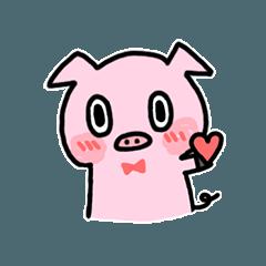 かわいい仔豚ちゃん