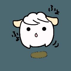 うさぎじゃないよ羊だよ