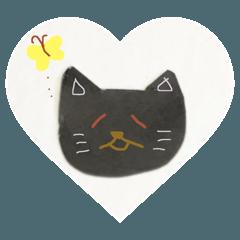 黒猫クロミの日常スタンプ