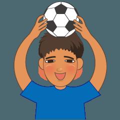 サッカー男子の使える日常会話